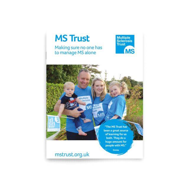MS Trust leaflet